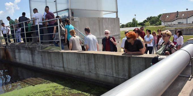 predstavili su pročistač otpadnih voda i vodocrpilište Velemirovac